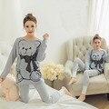 New Hot 2017 Spring Autumn Long Women Sleepwear Pijama Pajamas For Girls Woman Pyjama Femme Pyjamas Womens Pajama Sets O-Neck