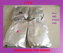 Free shipping refill color toner powder compatible for xerox c1110 high quality