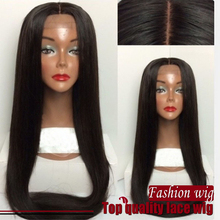 14-26 Inch Black Straight Synthetic Lace Front Wig 100% Heat Resisitant Fiber Glueless Synthetic Lace Front Wig for Black Women