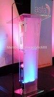 Púlpito móveis Frete Grátis Preço Razoável de Alta Qualidade Barato Transparente Limpar Acrílico Púlpito de acrílico púlpito de acrílico