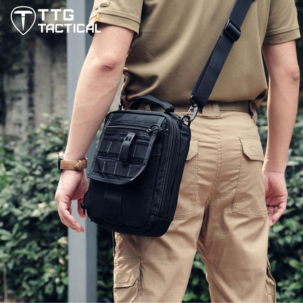 TTGTACTICAL Neatfreak Organizer Tactical Gun Bag, Military Molle Gear Pistol Shoulder Strap Bag Army Military EDC Versipack ломтерезка