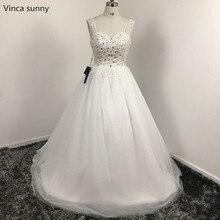 vinca sunny Vestidos De Novia Custom made  Ball gown wedding dresses Plus size tulle Cheap wedding gowns 2018 robe de mariage