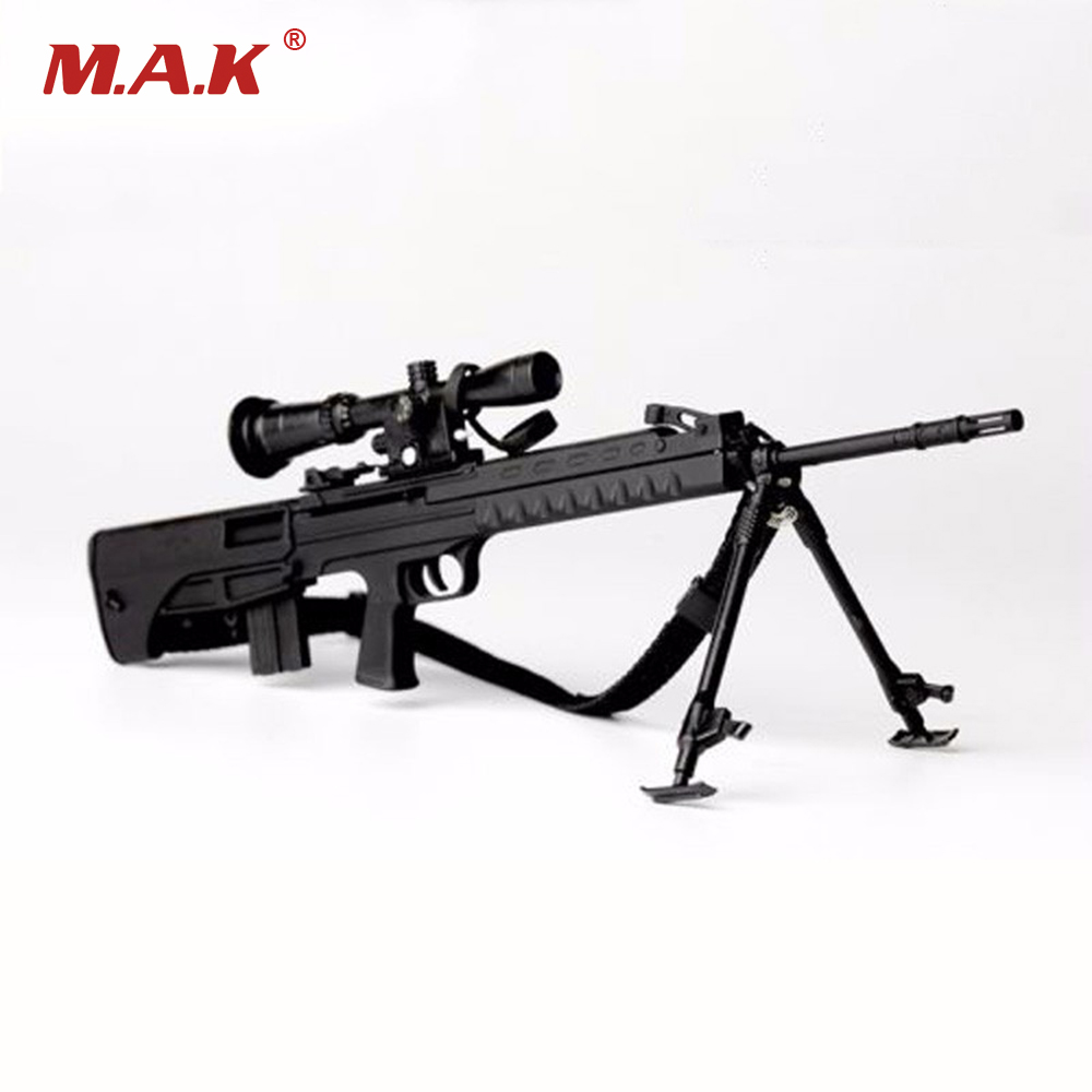 1/6 Scale Mini Distressed Sniper Rifle Pistol Gun Model Toys For 12 Action Figure Doll Accessory 1 6 scale 4d assembling qsz92 pistol model gun weapon mode kids toys for 12 action figure accessories collectible gifts e