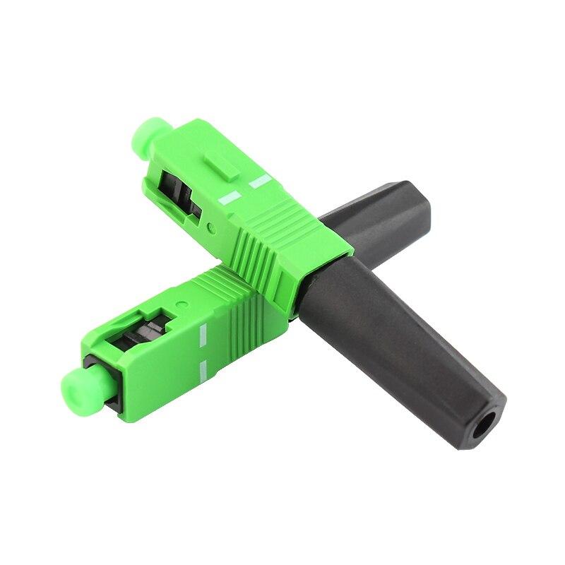 bilder für 10 STÜCKE Versorgung embedded FTTH SCAPC einzelnen single-mode-glasfaser-hdmi-kabel SCAPC schnellkupplung FTTH Fiber Optic Schnelle Freies verschiffen