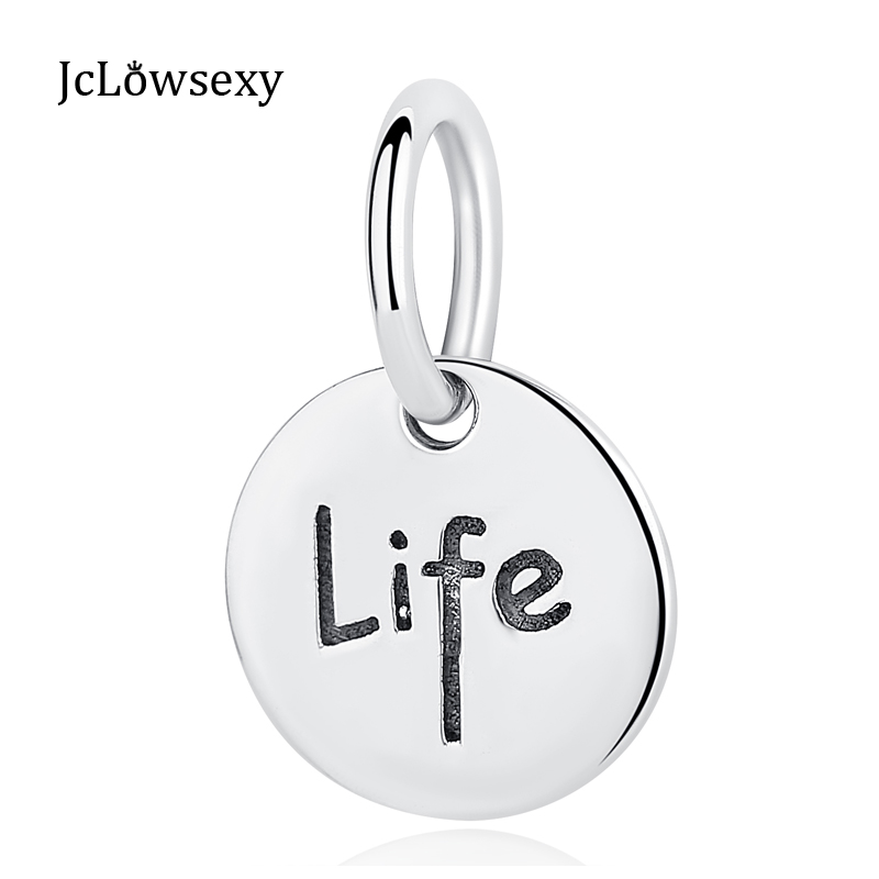 Authentic 925 Sterling Silver Bead Life Familry Friendship Hanging Charm Fit Original Pa ...