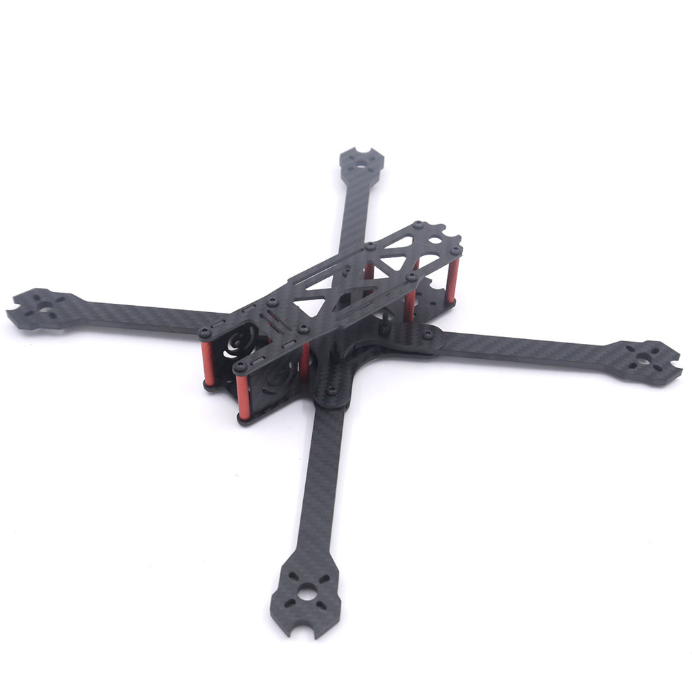 цена на QL7 V2 7 Inch 295mm Wheelbase 4mm Arm Thickness 3K Carbon Fiber Freestyle Frame Kit for RC Drone Models Multicopter Parts