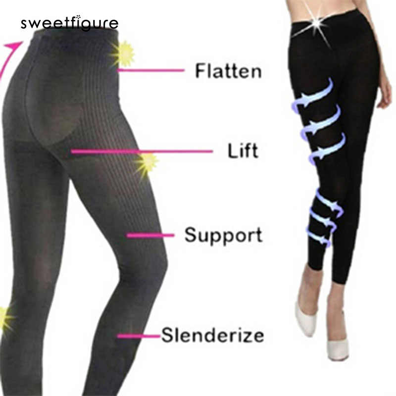 2c05651e9daeb Sleeping Slimming Pants Legging Socks Women Body Shaper Panties Slimming  Leg Sexy Hip Up Contron Pant