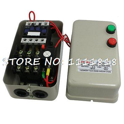 2.2-3.5A 1.5KW 2HP Three Phase AC Contactor Motor Magnetic Starter 24V Coil sayoon dc 12v contactor czwt150a contactor with switching phase small volume large load capacity long service life