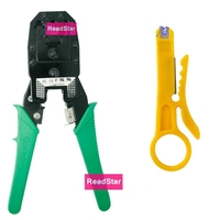 ReadStar OB-315 multi functional Cable crimper Crimping tool 8p 6p 4p RJ45 RJ11 RJ12 Networking telephone cable making & knife
