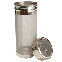 Stainless Steel Home Brew Brewing Filter Barrel Dry Hopper Hop Spider Home Beer Wine Making Tools 70x300mm 300 Mesh