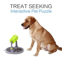 Pet Dog Interactive Toys Slow Feeders Healthy Diet Dog Toys IQ Training Toy Pet Food Feeder Foraging Toy Prevent Obesity Dog