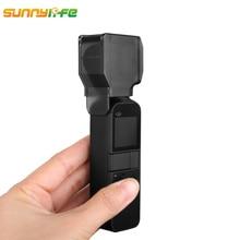 Sunnylife for DJI OSMO Pocket Accessories Camera Cover Lens Cap Protective Case Prop Protector for DJI OSMO Pocket Gimbal стоимость