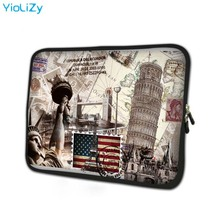 Leaning Tower print tablet case 7 laptop Protective skin 7.9 notebook sleeve protective shell for ipad 3 TB-24765