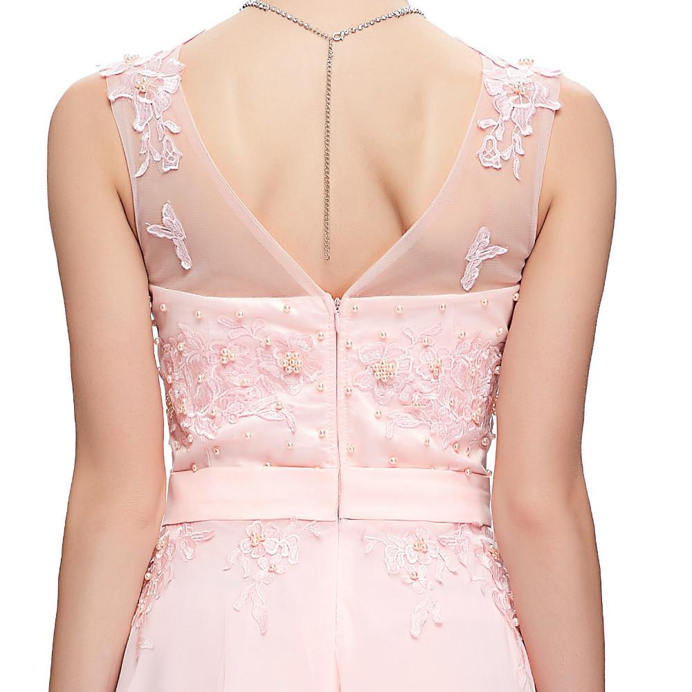 Grace Karin Elegant Long Evening Dresses 2016 Chiffon Pink Purple Red Royal Blue Black Formal Evening Dress Gown Abendkleider 29