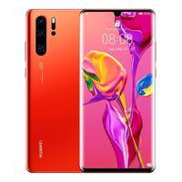 Huawei P30 Pro, Color Amber (Amber Sunrise), Dual SIM, 12 8GB Memoria Internal, 8GB RAM, Screen 6.47 , Cáma
