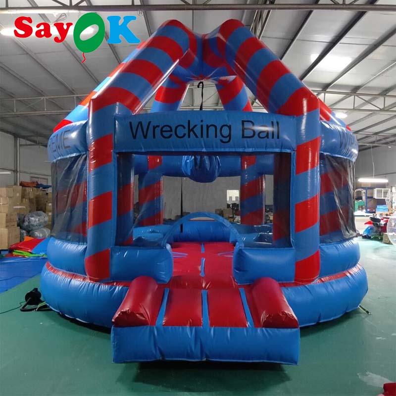 Надувные шаровые тараны боксерские игры надувной батут для Мультиплеер команда спортивные Wrecking Ball игры развлечения
