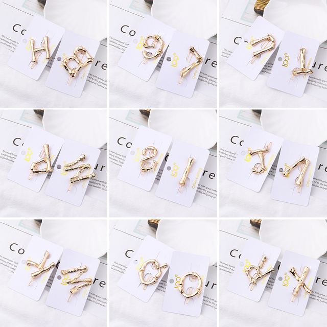 Popular Korea Fashion Initiation Pearl Hair Clip Snap Barrettes 5