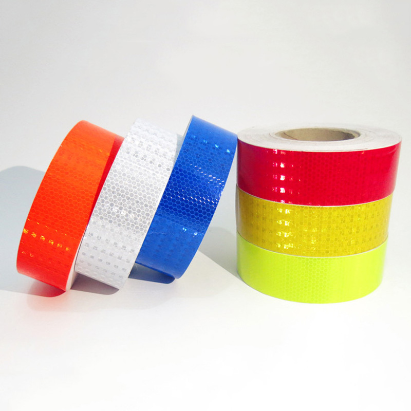5cm Lattice Reflective Tape Stickers Car Styling Automobile Vehicle Truck Motorcycle Cyc ...
