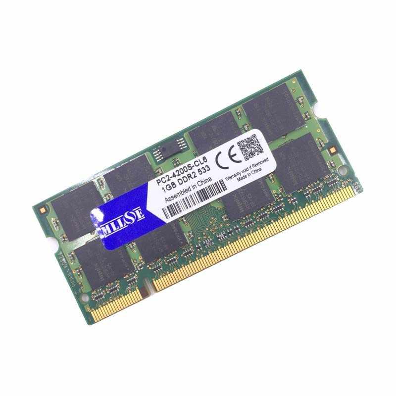 סיטונאי מחשב נייד זיכרון DDR2 533 667 800 MHZ 1 gb 2 gb PC2-5300 PC2-6400 533 mhz 667 mhz 800 mhz 1g 2g sdram sodimm Memoria מחברת