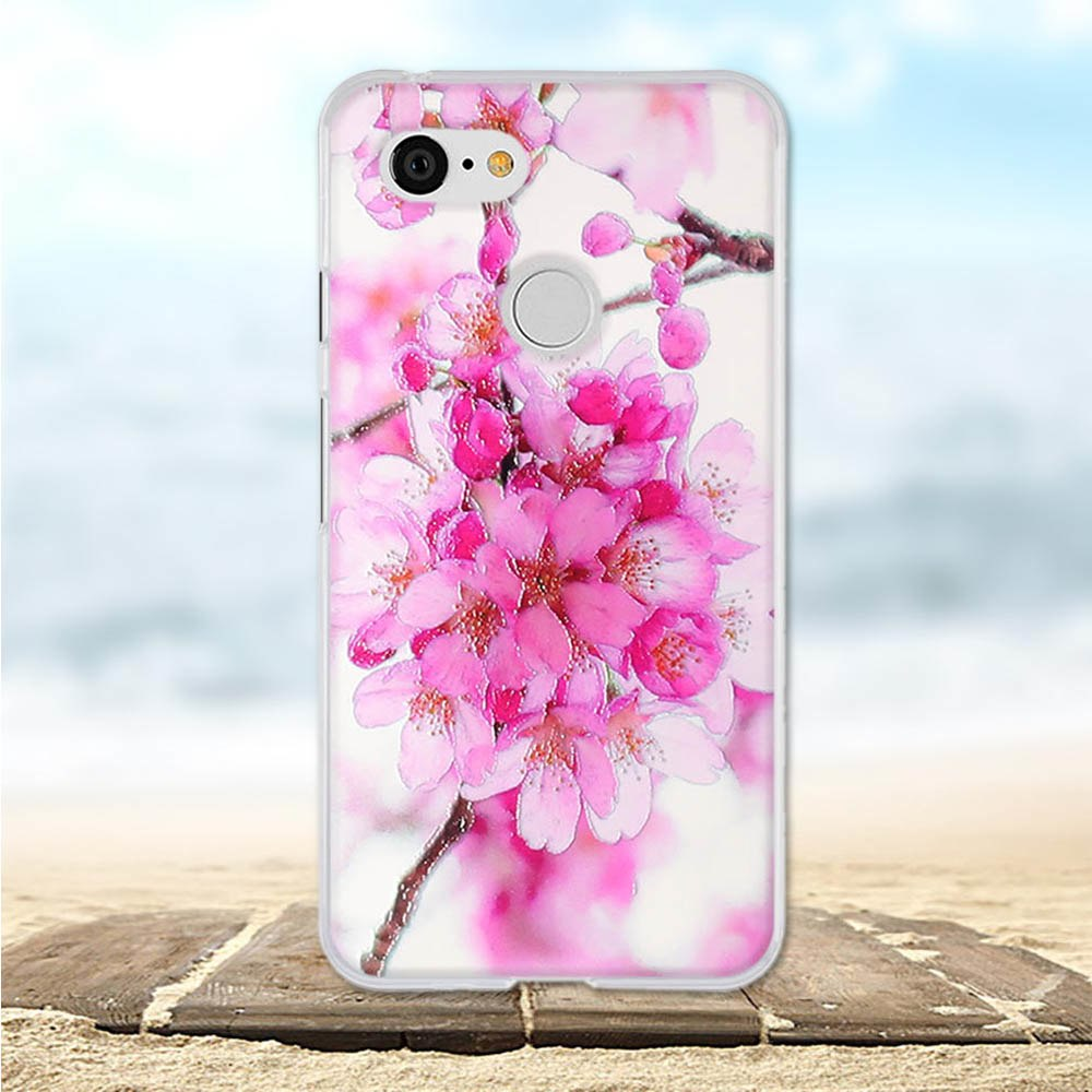 For Google Pixel 3 Case Soft Silicone TPU Back Cover For Google Pixcel 3 Cases Flower 3D Cute Bag For Google Pixcel3 Phone Cases