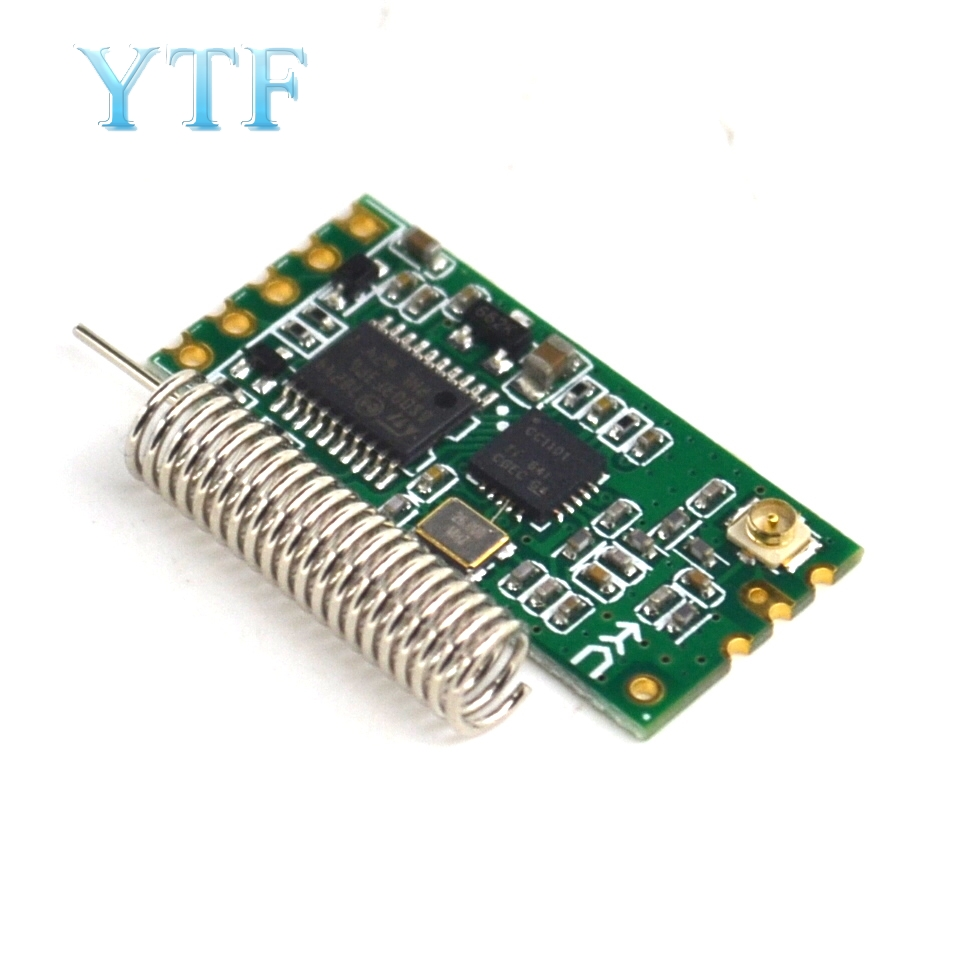 HC-11 433MHz Wireless RF Serial UART Module CC1101 5V 3V AT Command GPS