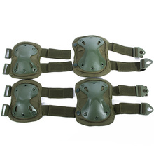 skates for figure skating on ice knee pads for sports 4Pcs Outdoor Adults Tactical Knee ArmyGreen Elbow Protective Pads Climbing