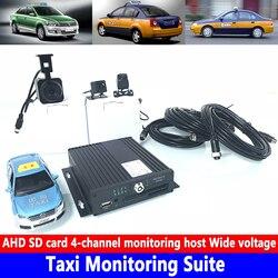 Biznes pojazdu/off road pojazdu taxi monitoringu zestaw 960 P HD pikseli 4 kanałowy monitorowania AHD panoramiczny obraz dokująca OBD w Wielokątowe kamery samochodowe od Samochody i motocykle na