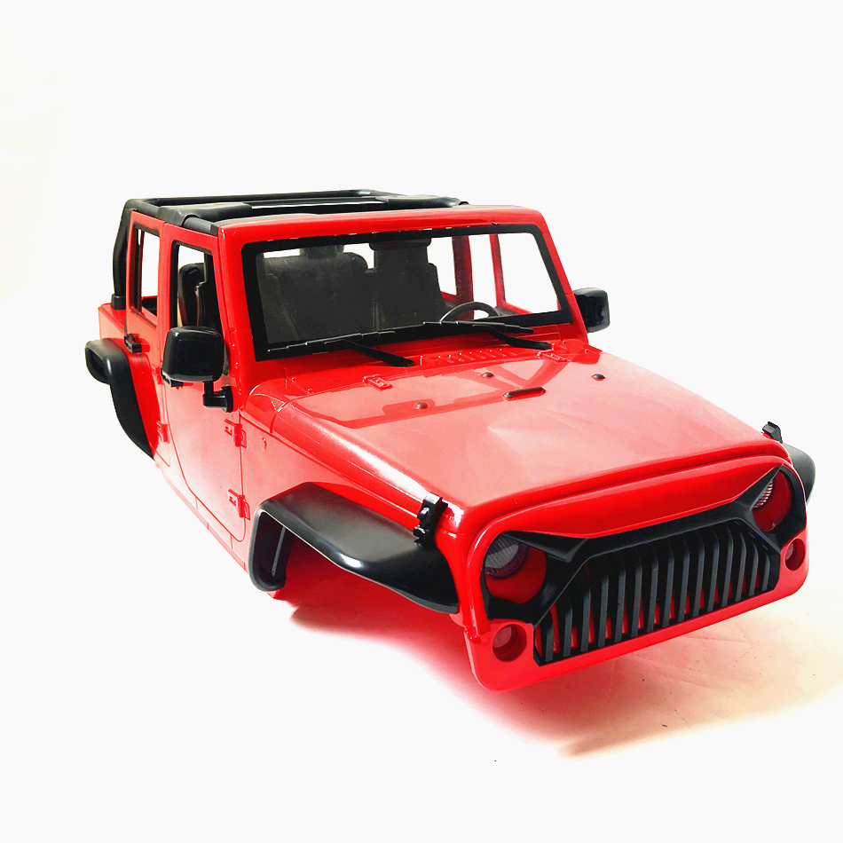 Image 5 - RC Car Air Inlet Grille Front Face Engine Hood for 1/10 RC Crawler Axial SCX10 90046 90047 Jeep Wrangler Rubicon Body She-in Parts & Accessories from Toys & Hobbies