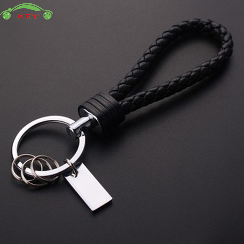 Braided Rope Car Keychain Auto Motorcycle Key Chain Bag Pendant for Subaru BMW Mazda Nissan Holden Yamaha Audi Mercedes Keyring Мотоцикл