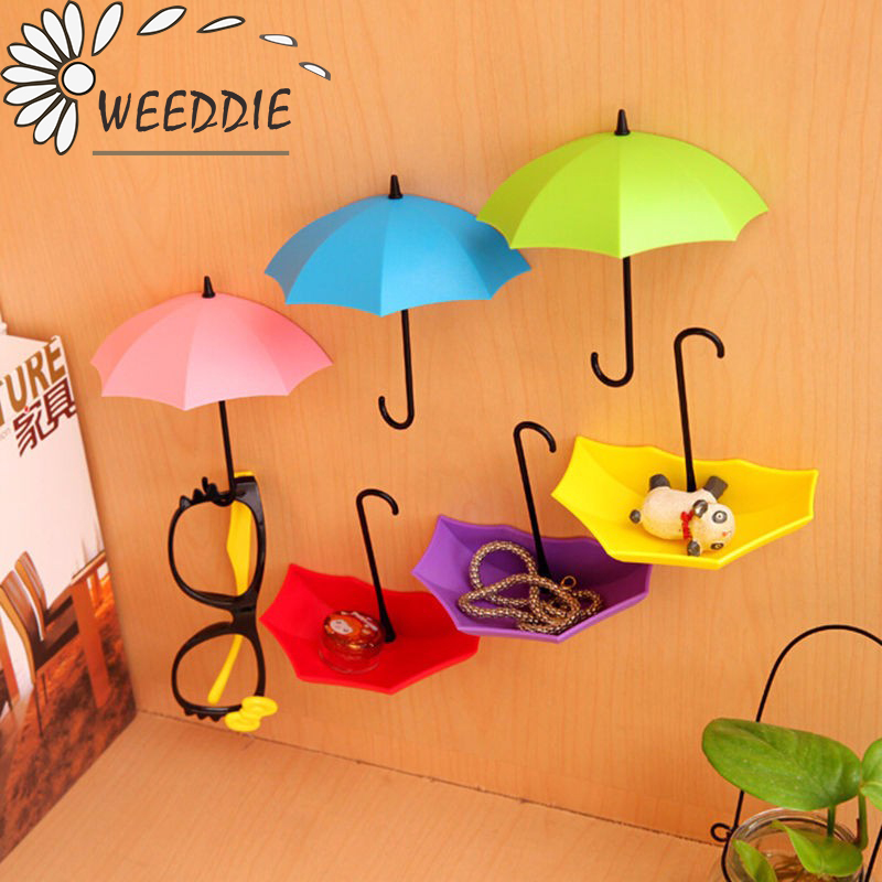 3pcs/lot Umbrella Shaped Creative Hanger