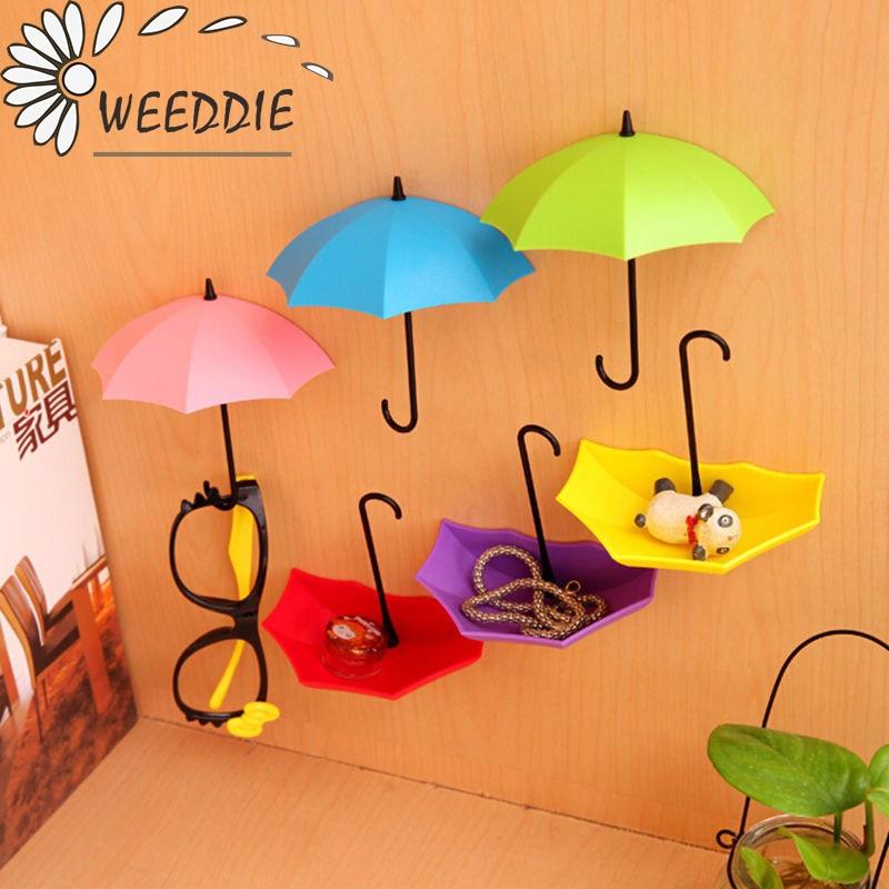 3pcs/lot Umbrella Shaped Creative Hanger