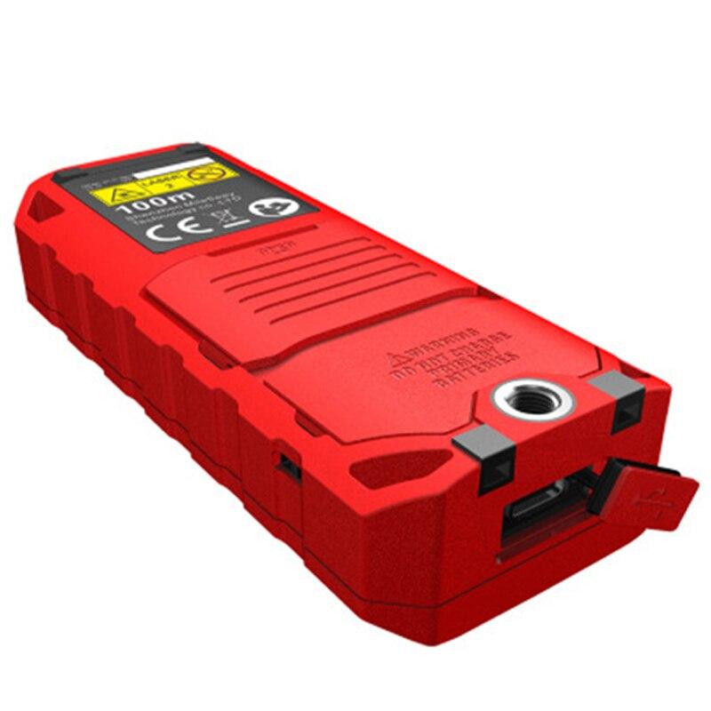 Télémètres Laser portables 60 m/80 m outil de mesure de Distance Laser infrarouge numérique de haute précision pour l'acceptation de la mesure domestique