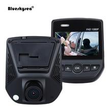 Blueskysea A305D Car DVR 1080P Dual Lens Rear Front IPS Car Video Recorder G-Sensor NovateK Sony IMX323 Night Vision Dash Camera