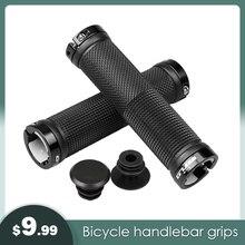 Mountain Bicycle Handlebar Grips Bike Handle Rubber Soft Ultralight Lockable Anti-skid Shock-absorbing Part