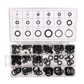 225 Pcs Kit Air Conditioning HNBR O Rings Seal Nitrile Rubber Car Auto Vehicle Repair Tools Air Conditioning Refrigerant Ring