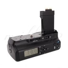 Meike mk550d tela lcd câmera de aperto da bateria multi-potência para canon eos 550d 600d 650d 700d rebel t2i 3i 4i 5i