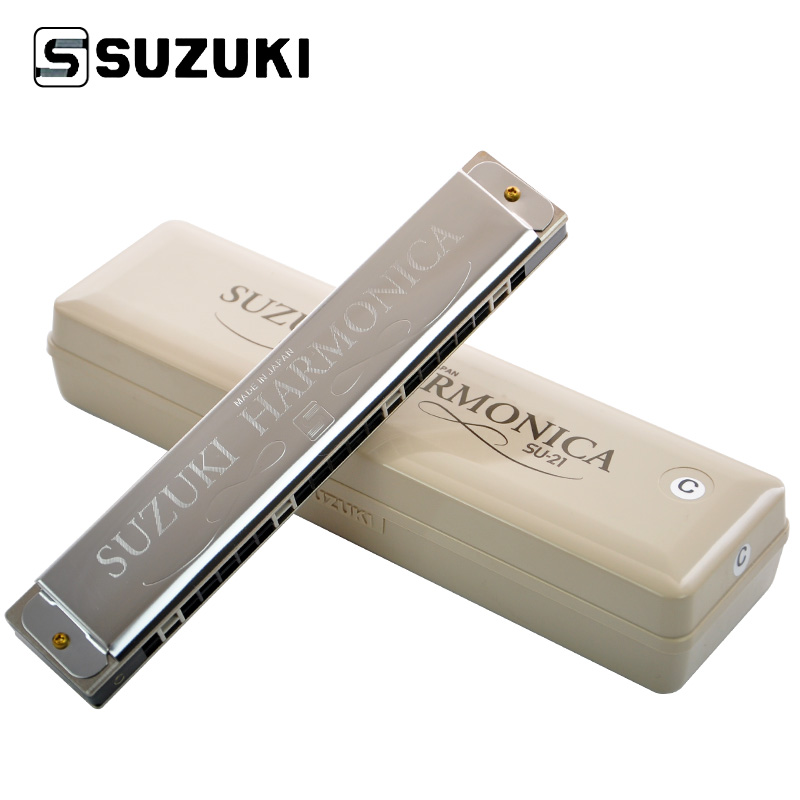 SUZUKI Специальный СУ-21SP/Tremolo-21-C Гармоника Диатонической Гармонике, ключ C