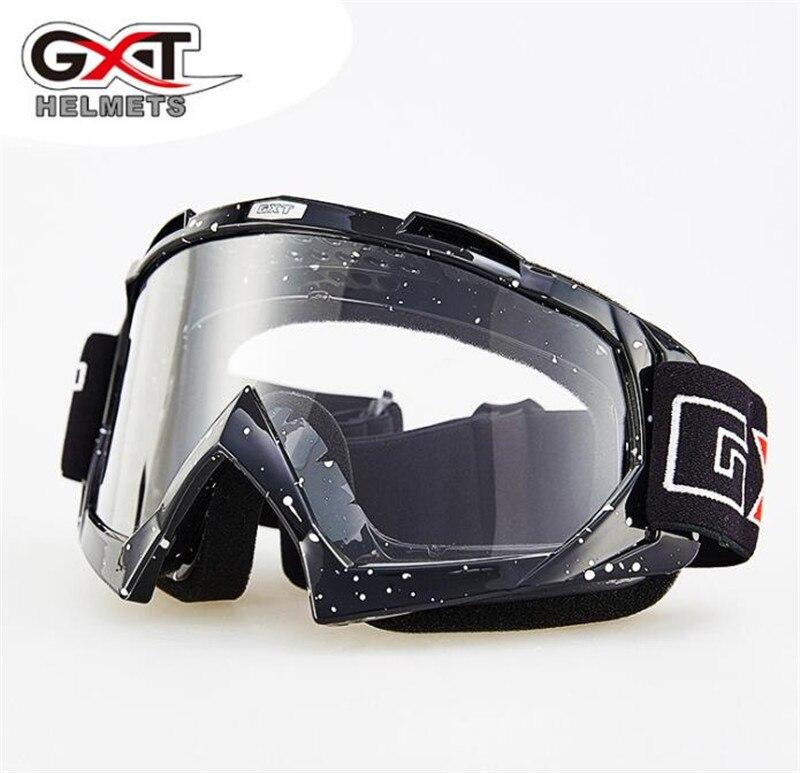 GXT Motorcycle Windproof Riding Glasses Ski Snow Snowboard Goggles Motocross Off-Road Downhill Dustproof Racing Eyewear