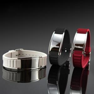 Image 4 - Hottime Sports Titanium Steel Bracelet Wristband Balance Human Body