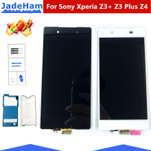 цена на For Sony Xperia Z3+ Z3 Plus Z4 Display E6553 E6533 E5663 LCD Display touch Screen Digitizer Assembly Replacement For Sony Z4 lcd