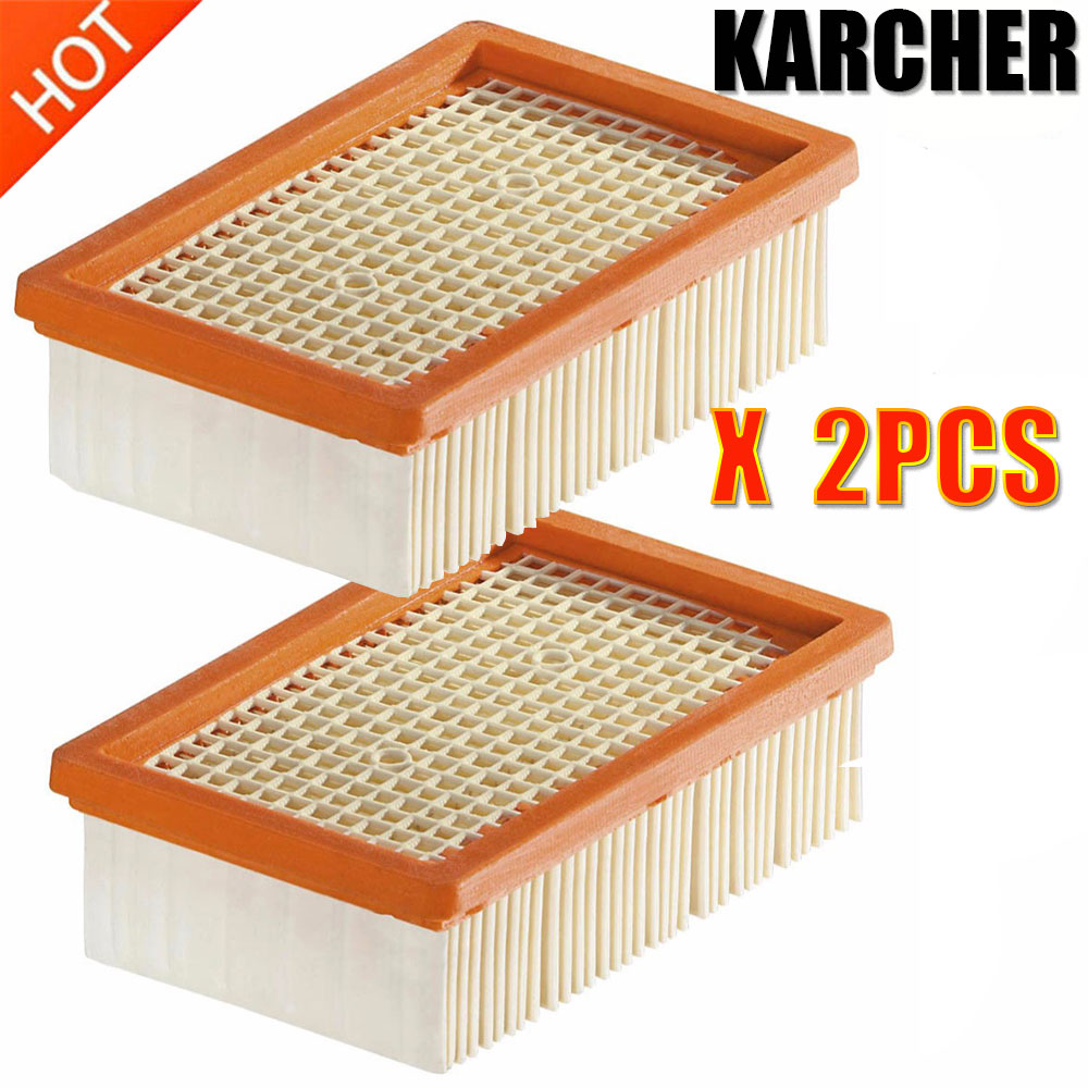 KARCHER Filter For KARCHER MV4 MV5 MV6 WD4 WD5 WD6 Wet&dry Vacuum Cleaner Replacement Parts#2.863-005.0 Hepa Filters Dust Bag