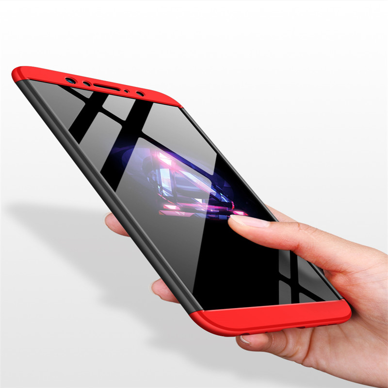 <font><b>360</b></font> Degree Full Protection Case For <font><b>Asus</b></font> <font><b>Zenfone</b></font> <font><b>Max</b></font> <font><b>Pro</b></font> M1 Hard PC Plastic 3 In <font><b>1</b></font> Back Cover for <font><b>Zenfone</b></font> <font><b>Max</b></font> <font><b>Pro</b></font> M1 Fundas image