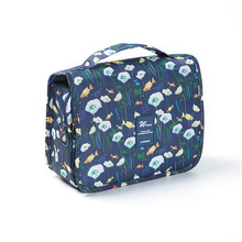 Travel cosmetic bag cartoon lady fashion beauty bag travel g