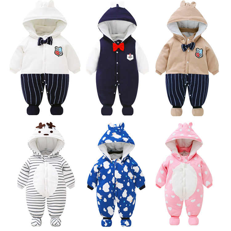 75d895a001eb Detail Feedback Questions about winter Baby Rompers cute Baby Boy ...