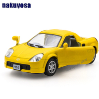 Brand New 1 32 Scale Japan Toyota 4 Colors Diecast Metal Pull Back Car Model Toy