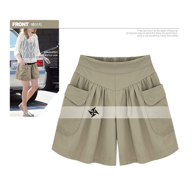 European American New Fashion Summer Womens Casual Shorts Large Size Shorts XL-5XL Comfortable Breathable Shorts 110Kg 5