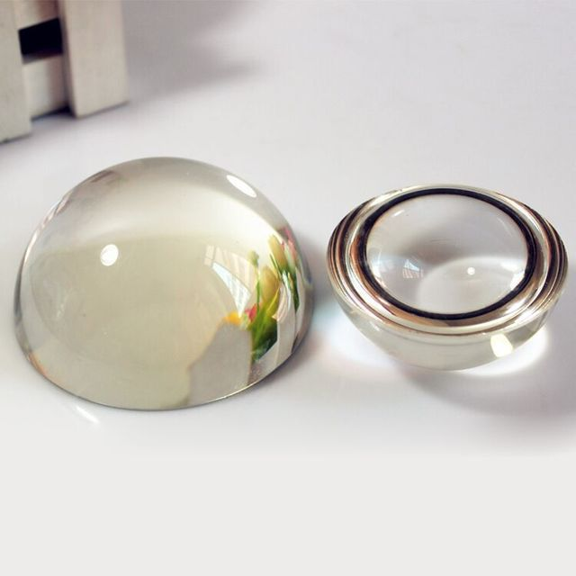 1pcs lot 150mm crystal glass paperweight crystal glass dome half