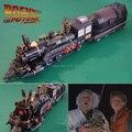 Фильм Назад в Будущее Доктор Барлетт Поездов Классический 3D Бумажная Модель Железнодорожника Бумажные Корабли Модели Игрушки Для Детей