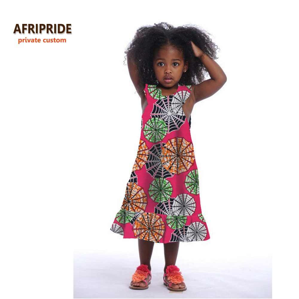 66e63b1548 Detail Feedback Questions about 2018 african kids dress for women african  clothes dashiki print cotton wax matching dresses children summer plus  sizeA724502 ...
