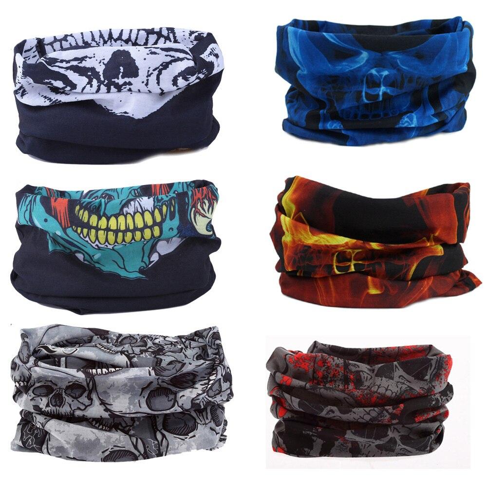 Mixed Batch Multifunctional Headwear Neck Bandana Multi Scarf Tube Mask Cap  Skull bandana Free Shipping 56a1cce8b54
